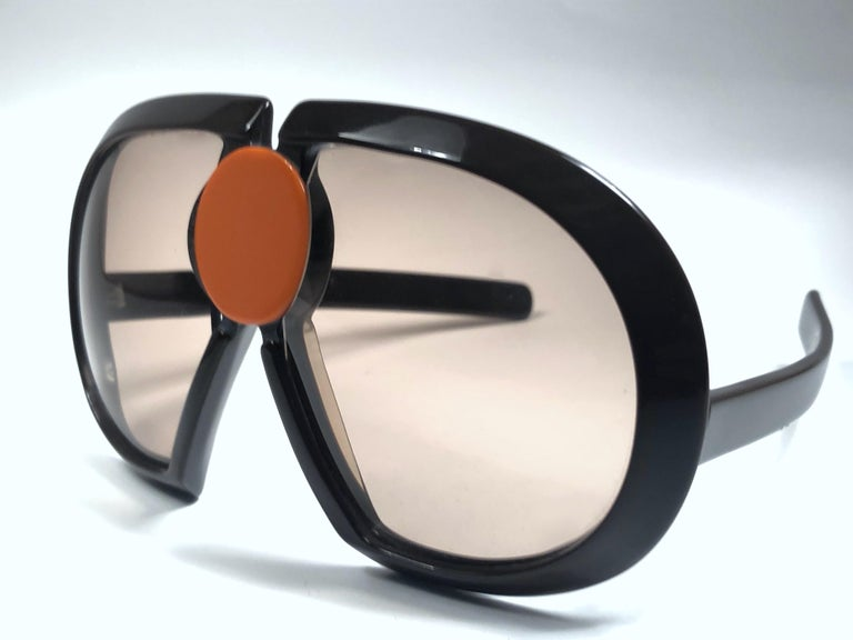 Women's or Men's New Vintage Rare Silhouette Futura 571 Collector Item 1970 Sunglasses  For Sale
