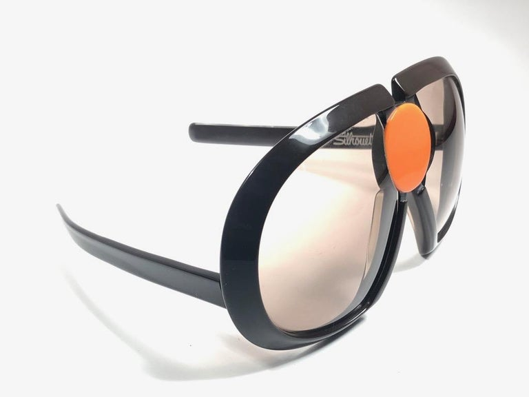 New Vintage Rare Silhouette Futura 571 Collector Item 1970 Sunglasses  For Sale 2