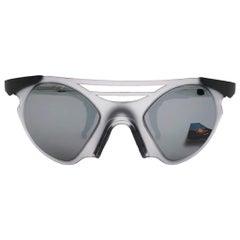 New Vintage Rare Sports Alpina Moscitoo Grey Mirror Lens 1980's Sunglasses