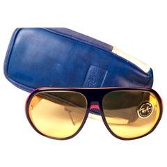 New Vintage Ray Ban B&L Blazer Ambermatic Lenses Sunglasses USA