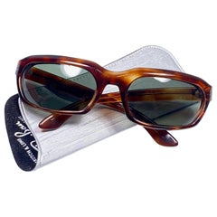 New Vintage Ray Ban Chalet 1960's Mid Century G15 Lenses USA Sunglasses
