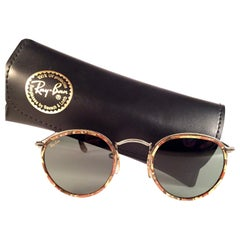 NEW Vintage Ray Ban Round Mosaic Classic G15 Lenses 1990's B&L Sunglasses