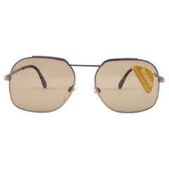 New Vintage Rodenstock Rofan 1 Metallic Rose Sunglasses 1980's Germany