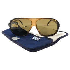 New Vintage Safilo Stratos 576 Translucent Frame Made in Italy 1980's Sunglasses