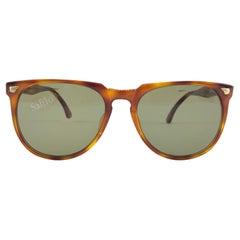 New Vintage Safilo Team 429 Tortoise Frame Made in Italy 1980's Sunglasses