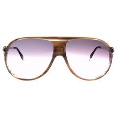 New Vintage Serge Kirchhofer Tortoise  Mod 953 Oversized Sunglasses Austria