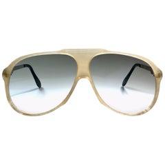 New Vintage Serge Kirchhofer Tortoise  Mod 954 Oversized Sunglasses Austria