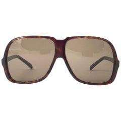 New Vintage Silhouette 785 Oversized Tortoise Germany 1970 Sunglasses