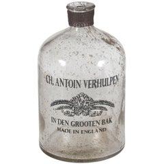 New Vintage Style Bubble Glass Decorative Bottle Vase