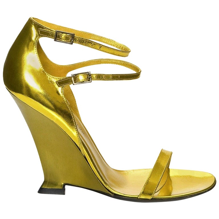 New Vintage Tom Ford for Yves Saint Laurent YSL Collectible Heels Sz 38.5 For Sale