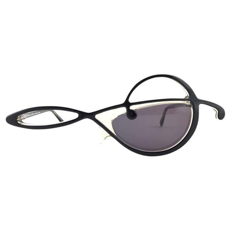 "New Vintage Ultra Rare Alain Mikli "" Cle de Sol "" Andy Warhol 1984 Sunglasses For Sale"