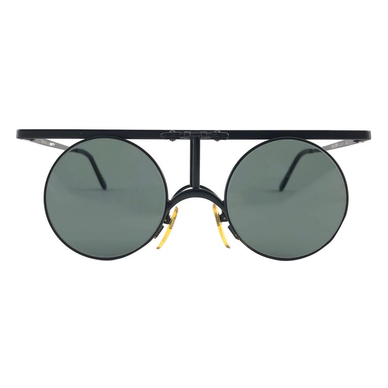 New Vintage Ultra Rare & Iconic I'DENTITY For Andy Warhol 1986 Sunglasses For Sale