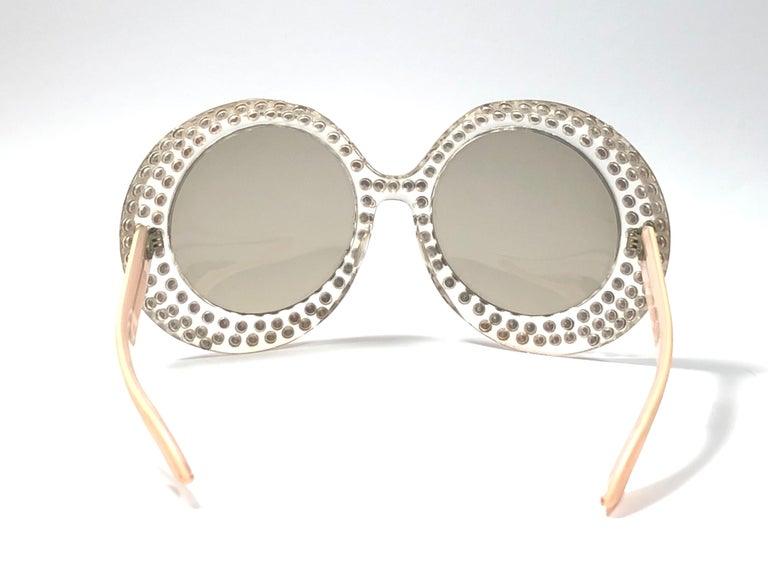 New Vintage Willson Oversized Elton John Collector Item 1970's Sunglasses For Sale 2