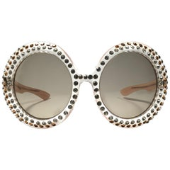 New Vintage Willson Oversized Elton John Collector Item 1970's Sunglasses