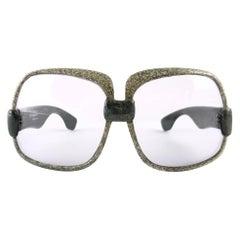 New Vintage Yves Saint Laurent YSL 545 Jaspe Marble 1970 France Sunglasses