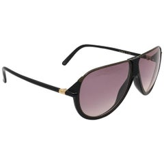 New Vintage Yves Saint Laurent YSL Alma Oversized  1980 France Sunglasses