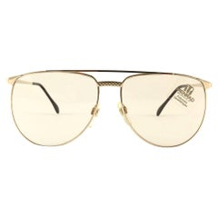New Vintage Zeiss Gold Sunglasses Made in Germany 1980's