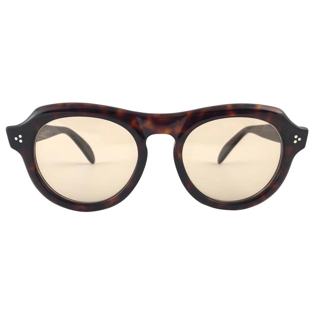 New Vintage Zollitsch 228 Dark Tortoise Robust Frame 1970 Sunglasses