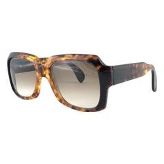 New Vintage Zollitsch 249 420 Robust Oversized Frame Brown Lens 1970 Sunglasses