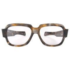 New Vintage Zollitsch MOD 217 COL 304 Robust  Frame Brown Lens 1970 Sunglasses