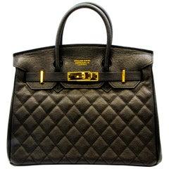 New William David Leather Handbag