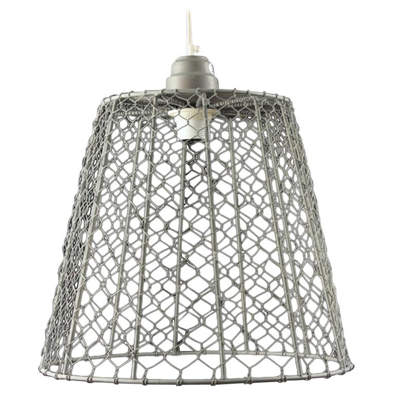 New Wire Mesh Lamp Shades 20th Century, Wire Mesh Lamp Shade