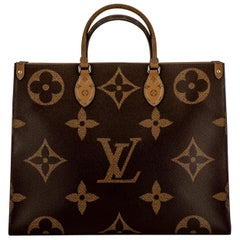 New with box Louis Vuitton Monogram On The Go Tote Bag