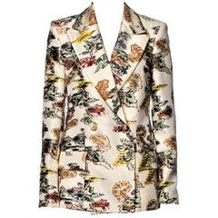 New With Tags Oscar De La Renta Resort 2020 Jacket Blazer $3690 Sz 6