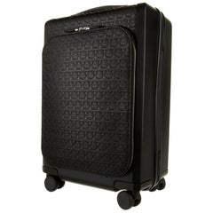 New With Tags Salvatore Ferragamo Carry On Trolley Suitcase $2200