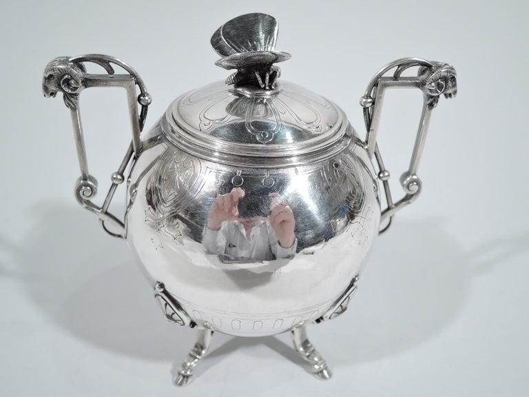 New York Aesthetic Tea Set by John Wendt for Ball, Black For Sale 3