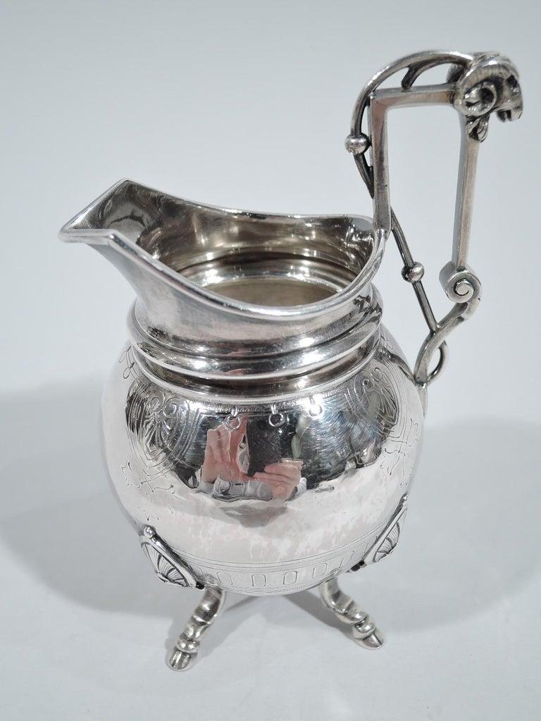 New York Aesthetic Tea Set by John Wendt for Ball, Black For Sale 2