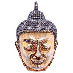 Lucea New York Diamond Buddha Pendant