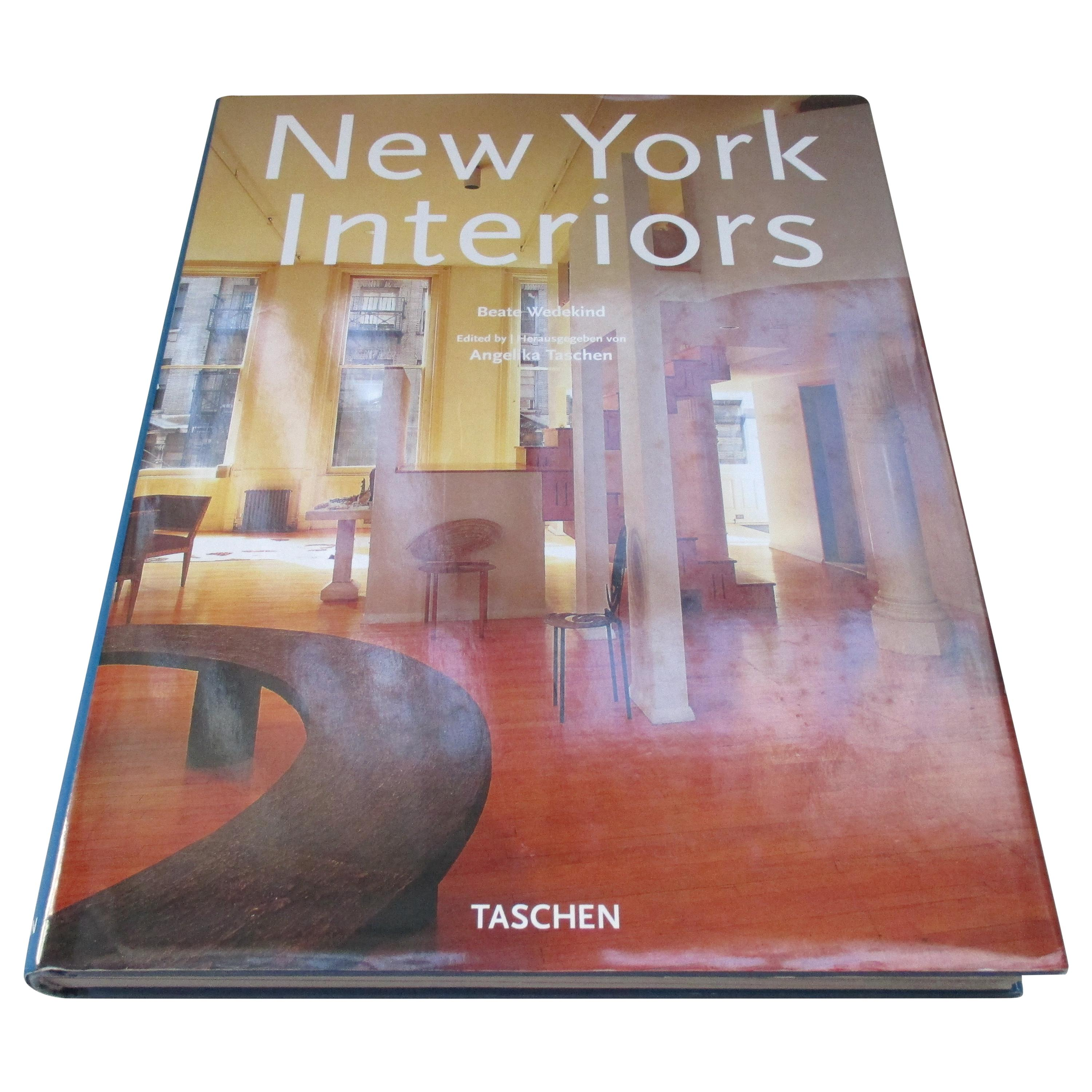 New York Interiors Hardcover Decorating Book by Taschen