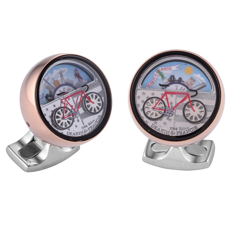 Deakin & Francis New York Moving Scene Cufflinks For Sale