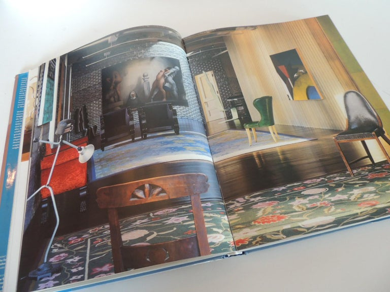 German New York Style Vintage Coffee Table Hard Cover Book For Sale