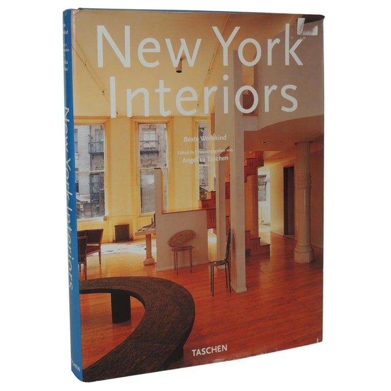 New York Style Vintage Coffee Table Hard Cover Book For Sale