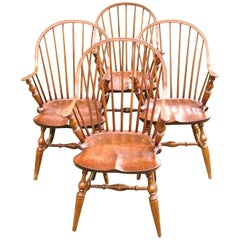 New York Style Windsor Chair Continuous Arm