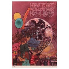 'New York World's Fair' 1961 U.S. Mini Poster