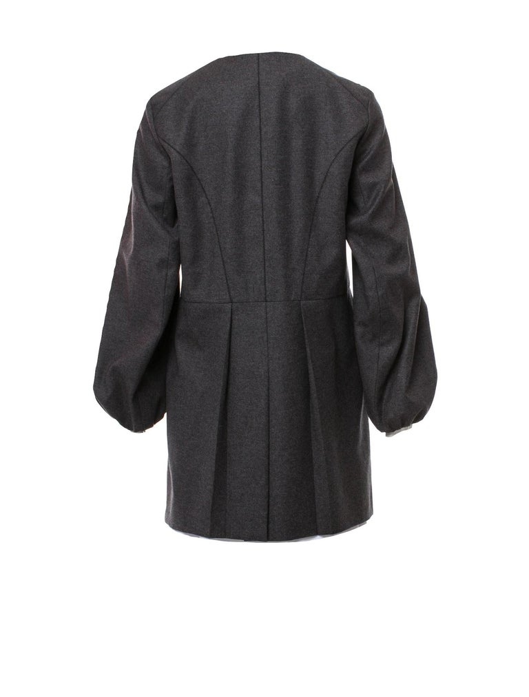 New Yves Saint Laurent  F/W 2007 Runway Wool Cashmere Coat Dress Sz 40 For Sale 6