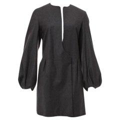 New Yves Saint Laurent  F/W 2007 Runway Wool Cashmere Coat Dress