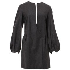 New Yves Saint Laurent  F/W 2007 Runway Wool Cashmere Coat Dress
