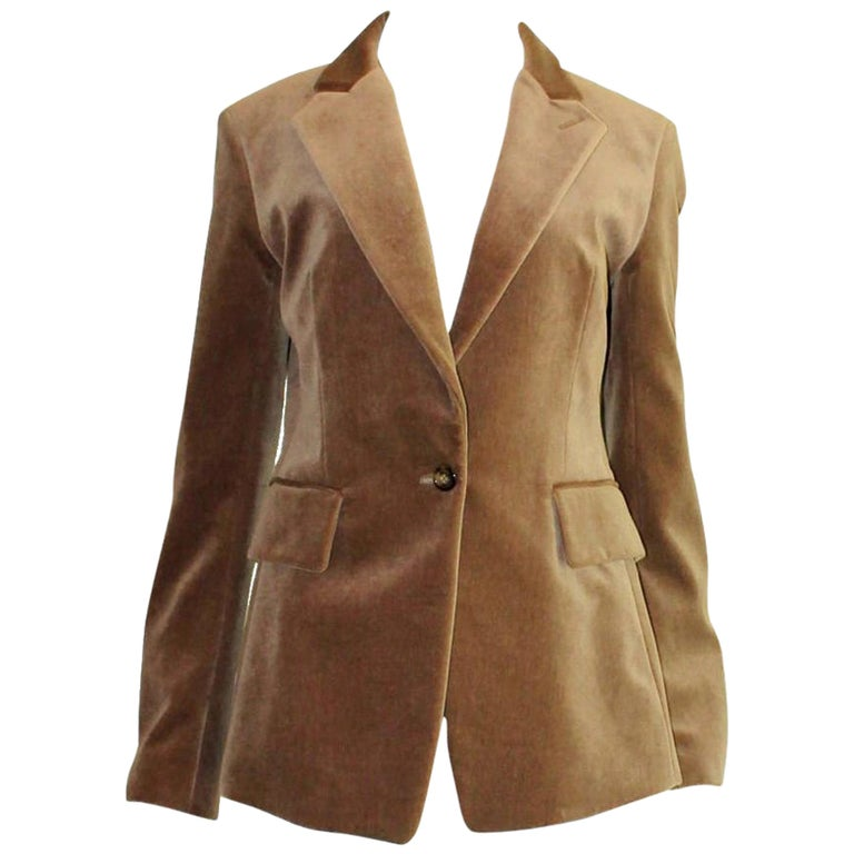 NEW Yves Saint Laurent Needlecord Blazer Jacket For Sale