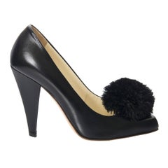 New Size 38.5 Yves Saint Laurent YSL Black Heels Pumps