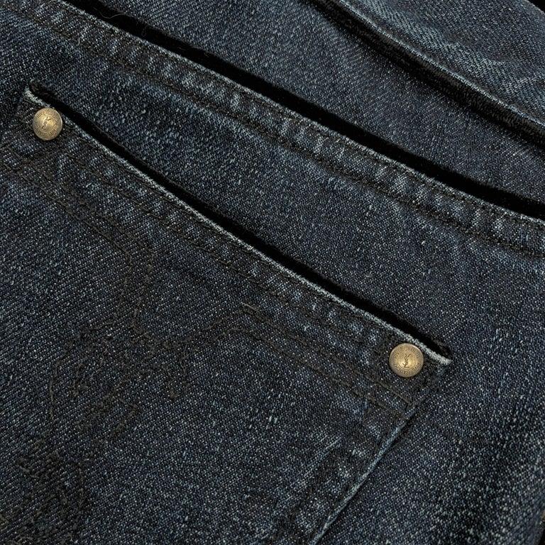 New Yves Saint Laurent YSL S/S 2005 Bell Bottom Jeans Pants Sz 42 $795 For Sale 4