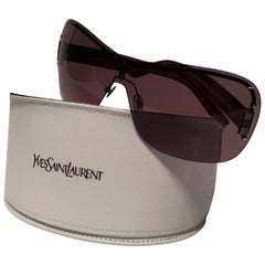 New Yves Saint Laurent YSL Wrap Sunglasses With Case