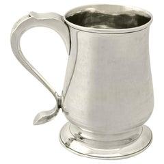 Newcastle Sterling Silver Pint Mug by John Langlands I & John Robertson I 329g