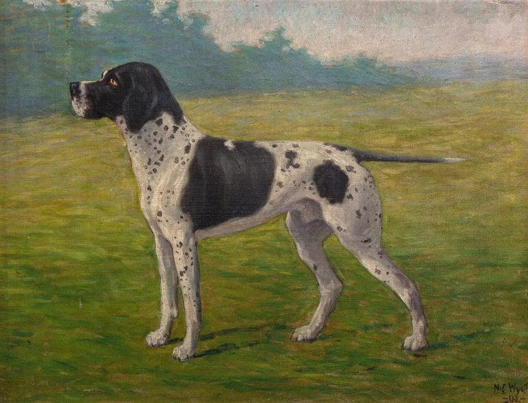 <i>Don, Pointer Dog</i>, 1902, offered by Heather James Fine Art
