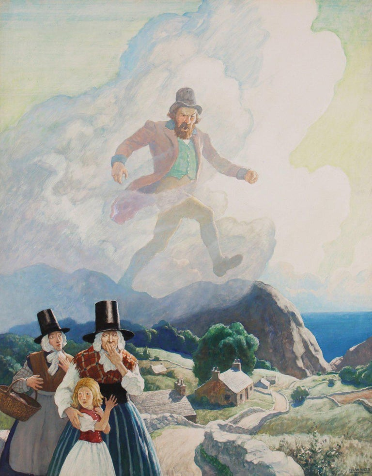 <i>The Man of Wales</i>, 1938, offered by the Illustrated Gallery