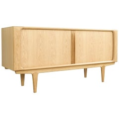 Newly Made Sideboard in Oak Model 142 by Bernhard Pedersen & Søn