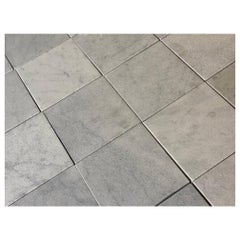 Newly Quarried White Marble Flooring